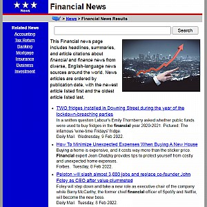 Topics of Banking News and Investment